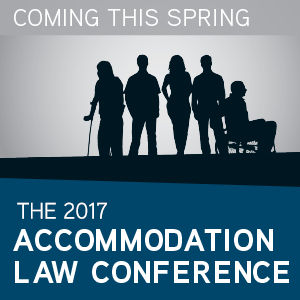 The 2017 Accomodation Law Conference