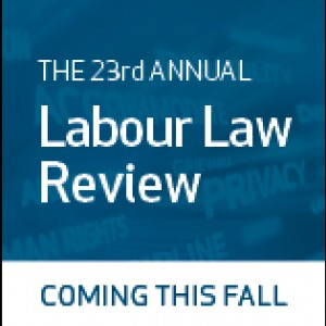 23rd Annual Labour Law Review