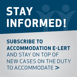 Accommodation E-lert 2019